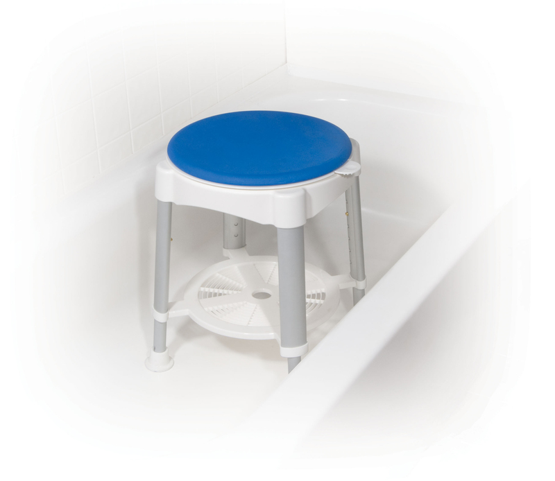 Bath Stool With Rotating Seat Island Mediquip Home