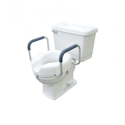 Toilet Seat with Handles