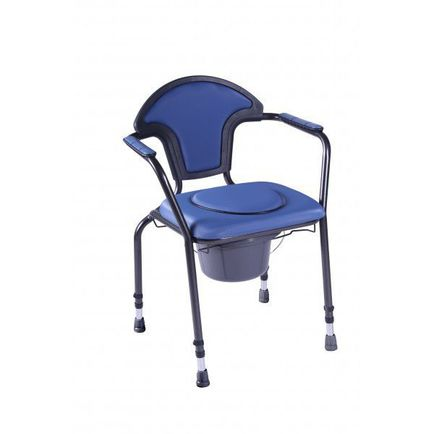 Herdegen Adjustable Commode Chair