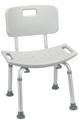 Shower & Bath Seat with Back
