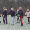 A group of women Nordic walking in cool weather. Photo credit Malcolm jarvis on Wikimedia.